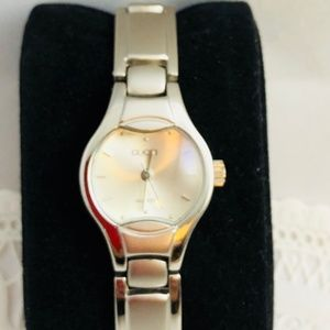 Vintage Gucci Watch grey dial stainless steel